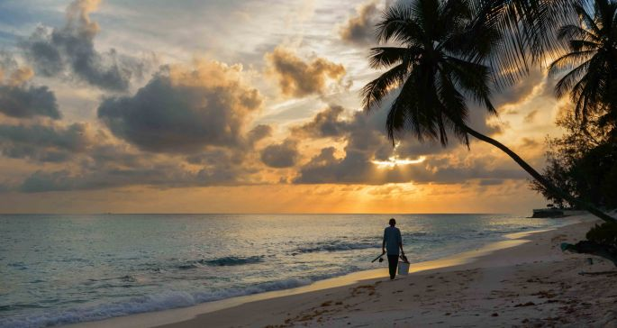 Barbados, photograph, beach, wood, drift wood, coastal, Garvin Art, Garvin Hunter Photography, photoblog, photography blog, Garvin blog, art for sale, sunset, light, clouds, reflection